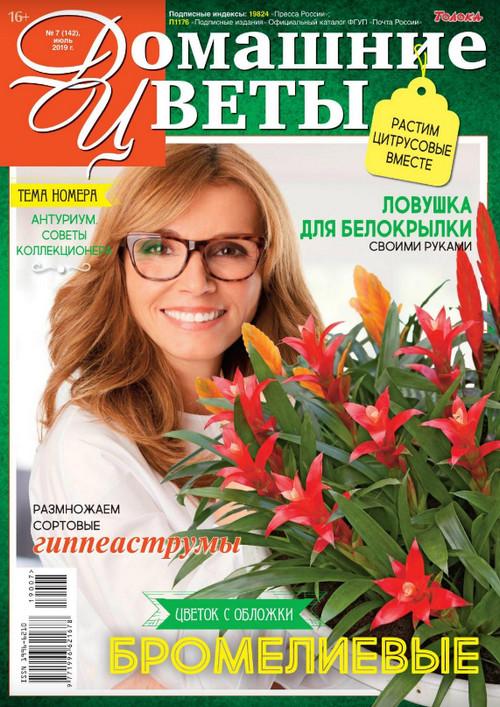 Домашние цветы №7 за июль, 2019 года