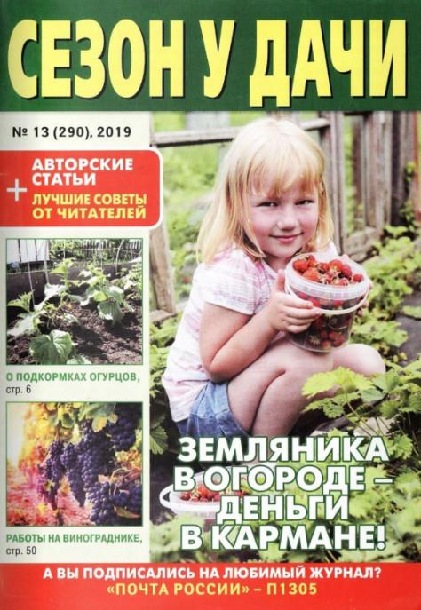 Сезон у дачи №13, июль 2019