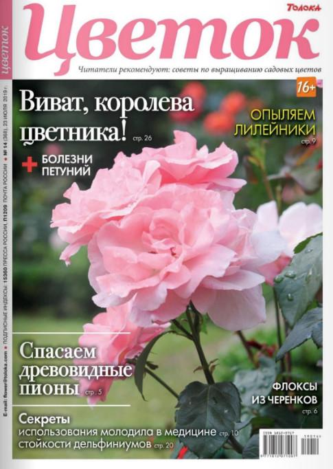 Цветок №14 июль 2019