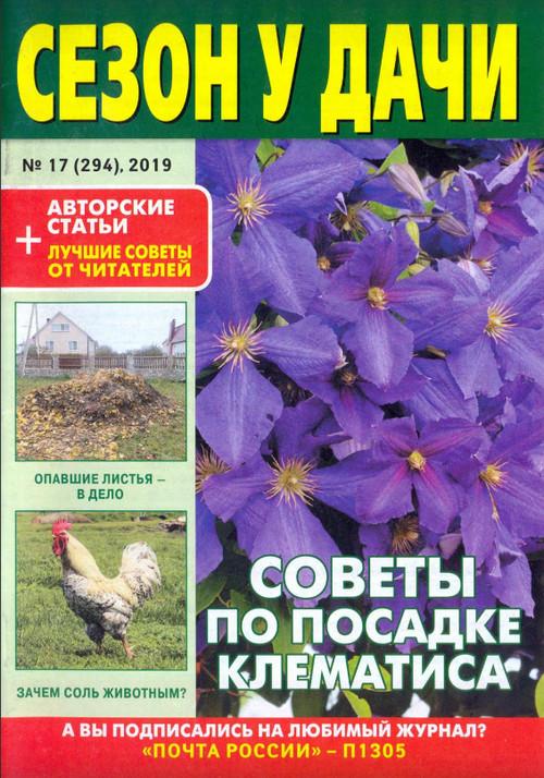 Сезон у дачи №17 / 2019