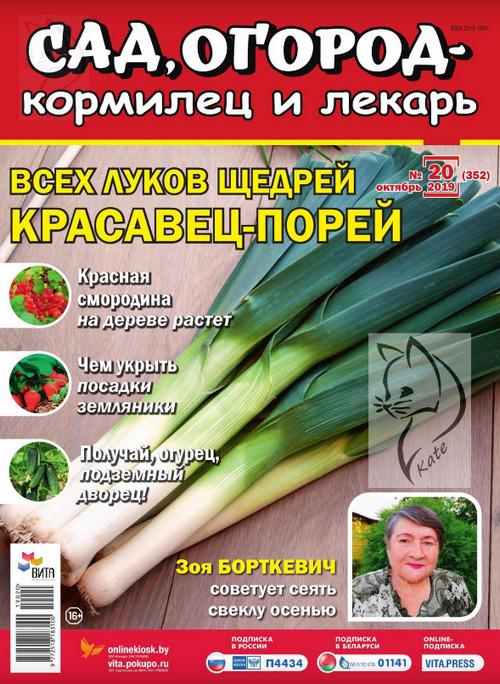 Сад, огород - кормилец и лекарь №20 / 2019