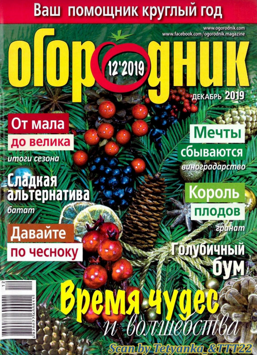 Огородник №12 (декабрь/2019)