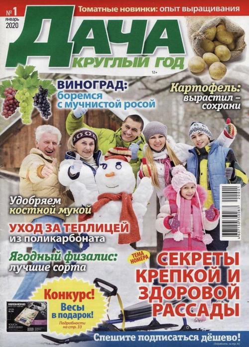 Дача круглый год №1 (январь/2020)