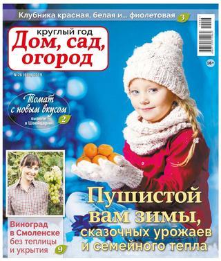 Круглый год Дом сад огород №26 2019