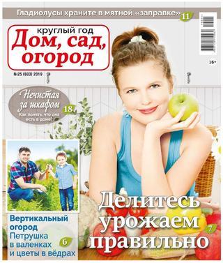 Круглый год Дом сад огород №25 2019