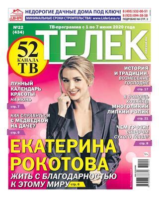 Телек №22 (май-июнь/2020)