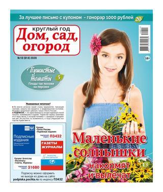 Круглый год Дом сад огород №10 (май/2020)