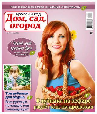 Круглый год Дом сад огород №13 (июль/2020)