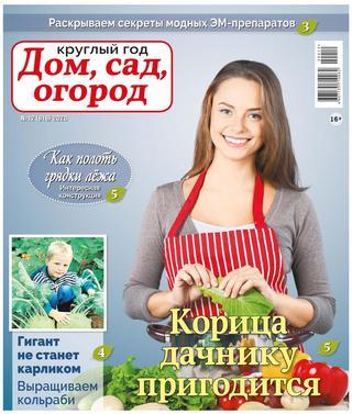 Круглый год Дом сад огород №12 (июнь/2020)