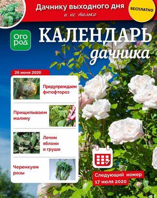 Календарь дачника №13 (июнь/2020)