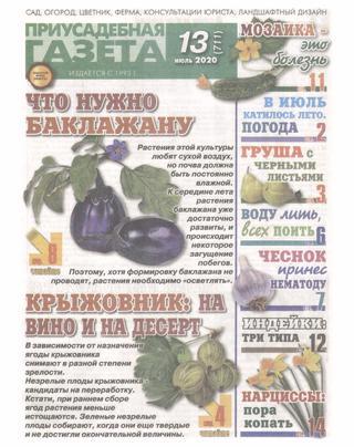 Приусадебная газета №13 (июль/2020)