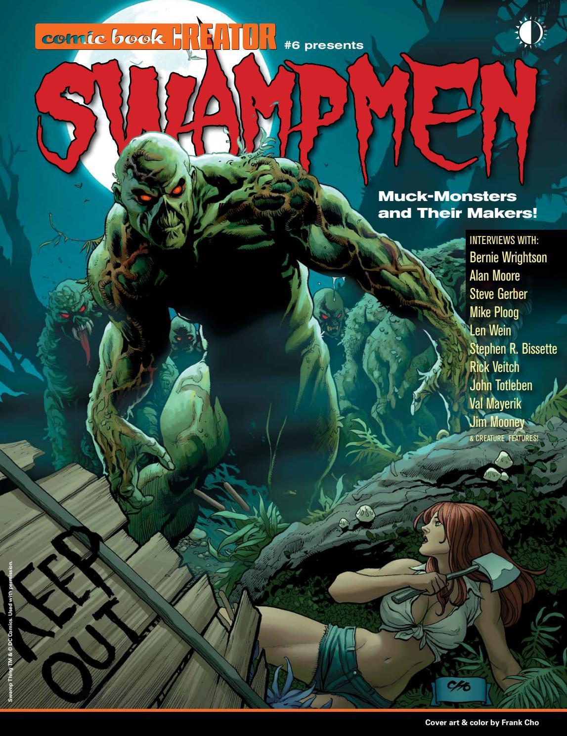 Comic Book Creator 6: Swampmen