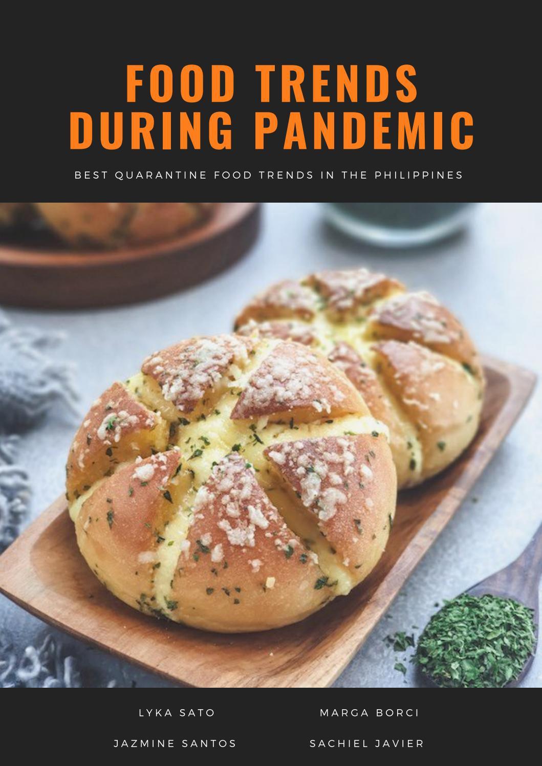 Pandemic Food Trends Magazine