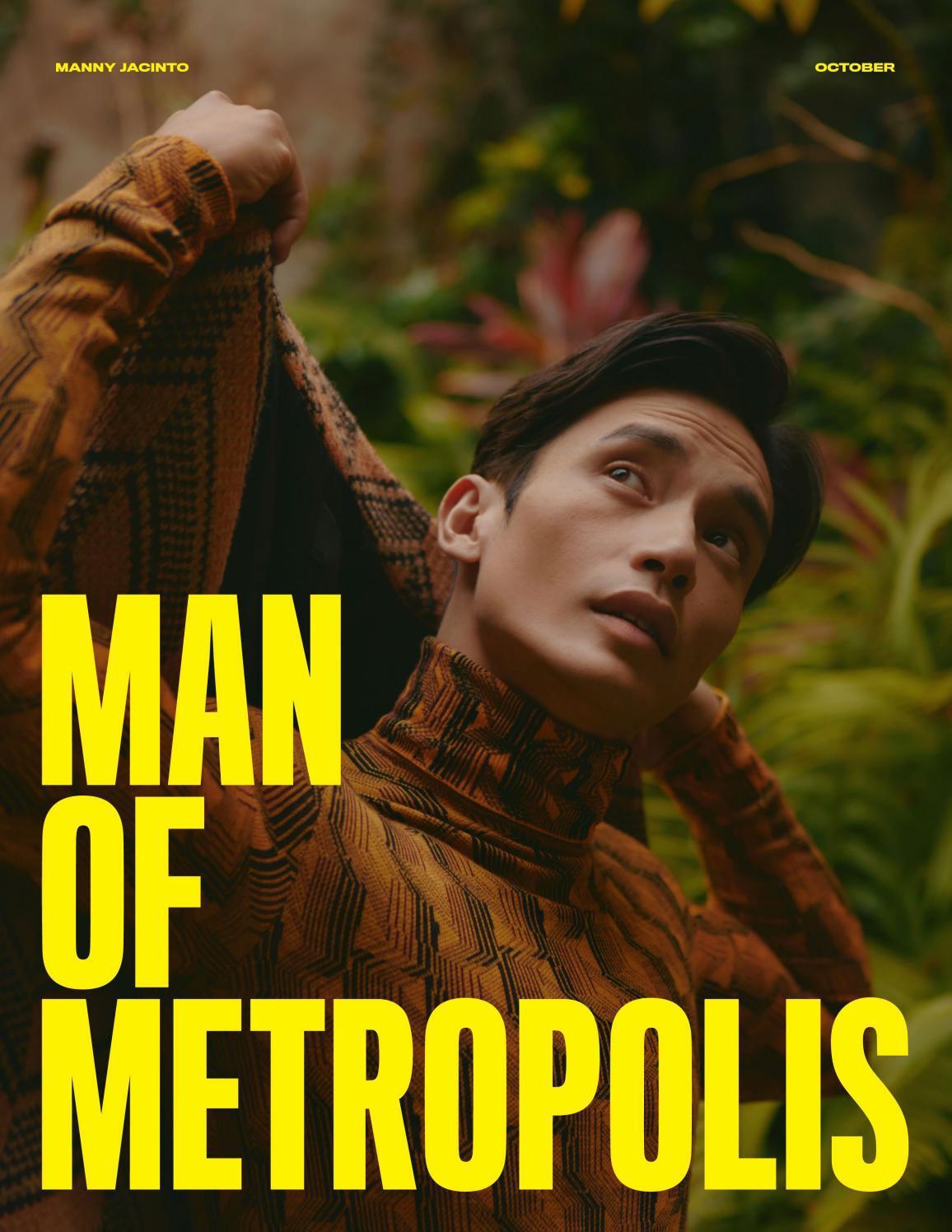 Man of Metropolis - Manny Jacinto, October 2021
