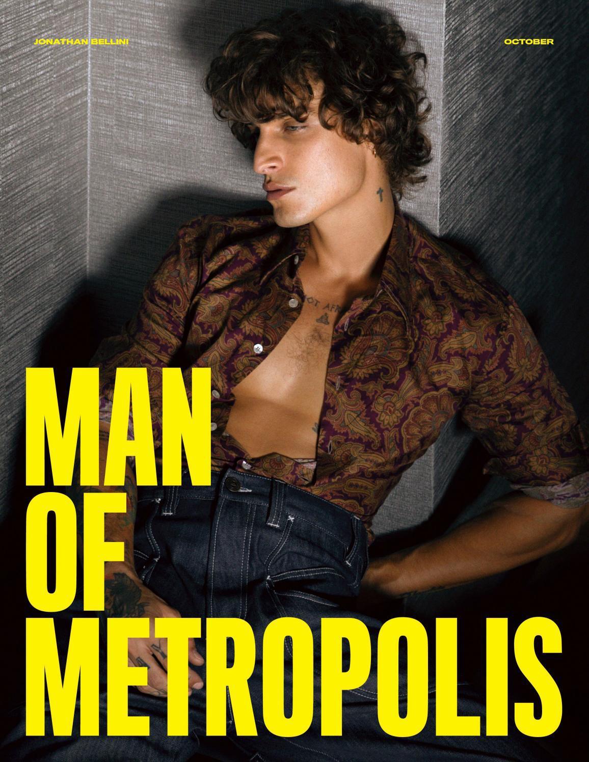 Man of Metropolis - Jonathan Bellini, October 2021