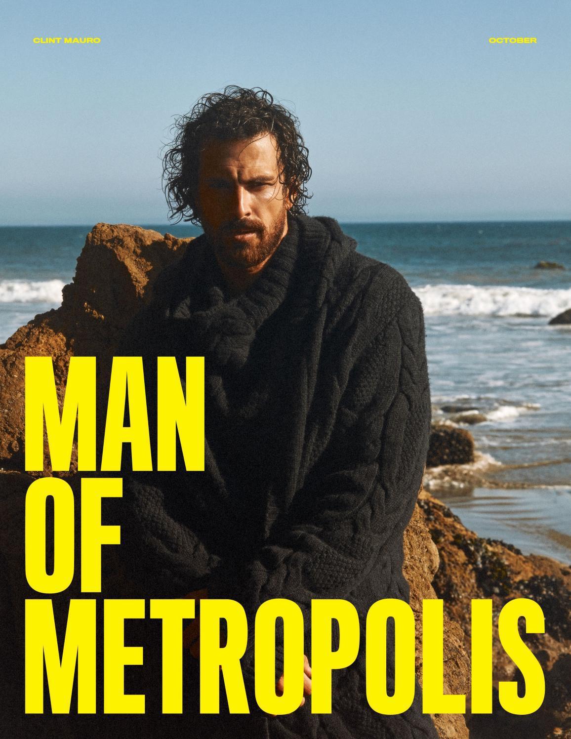 Man of Metropolis - Clint Mauro, October 2021