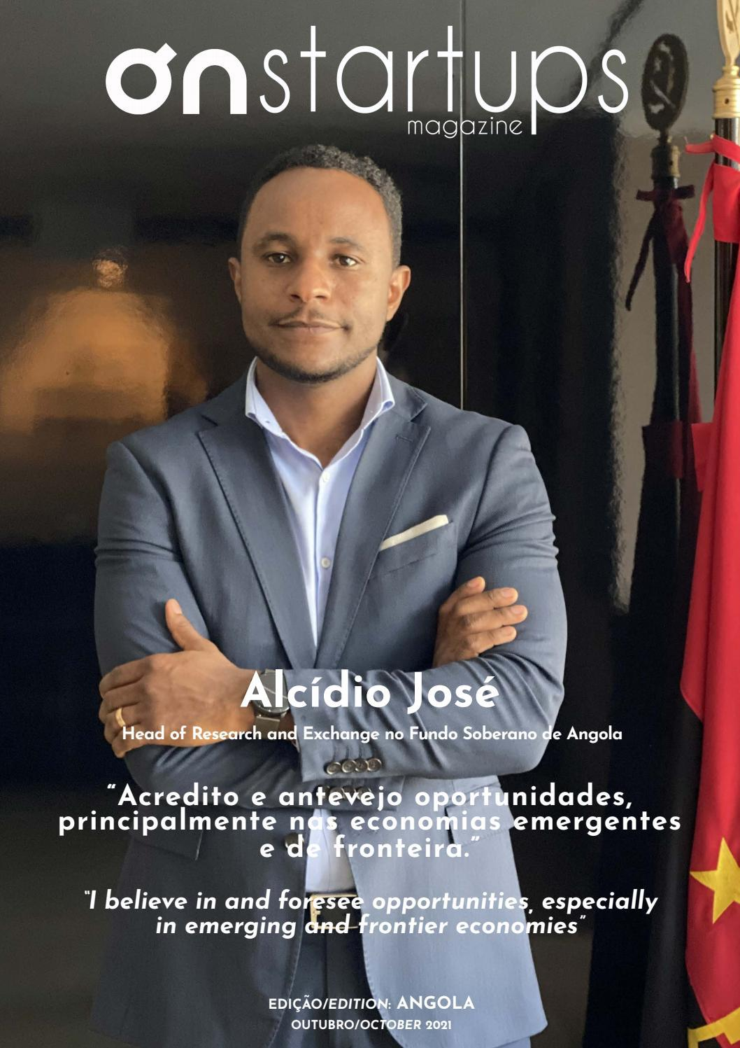 On Startups Magazine Angola #8, Outubro 2021