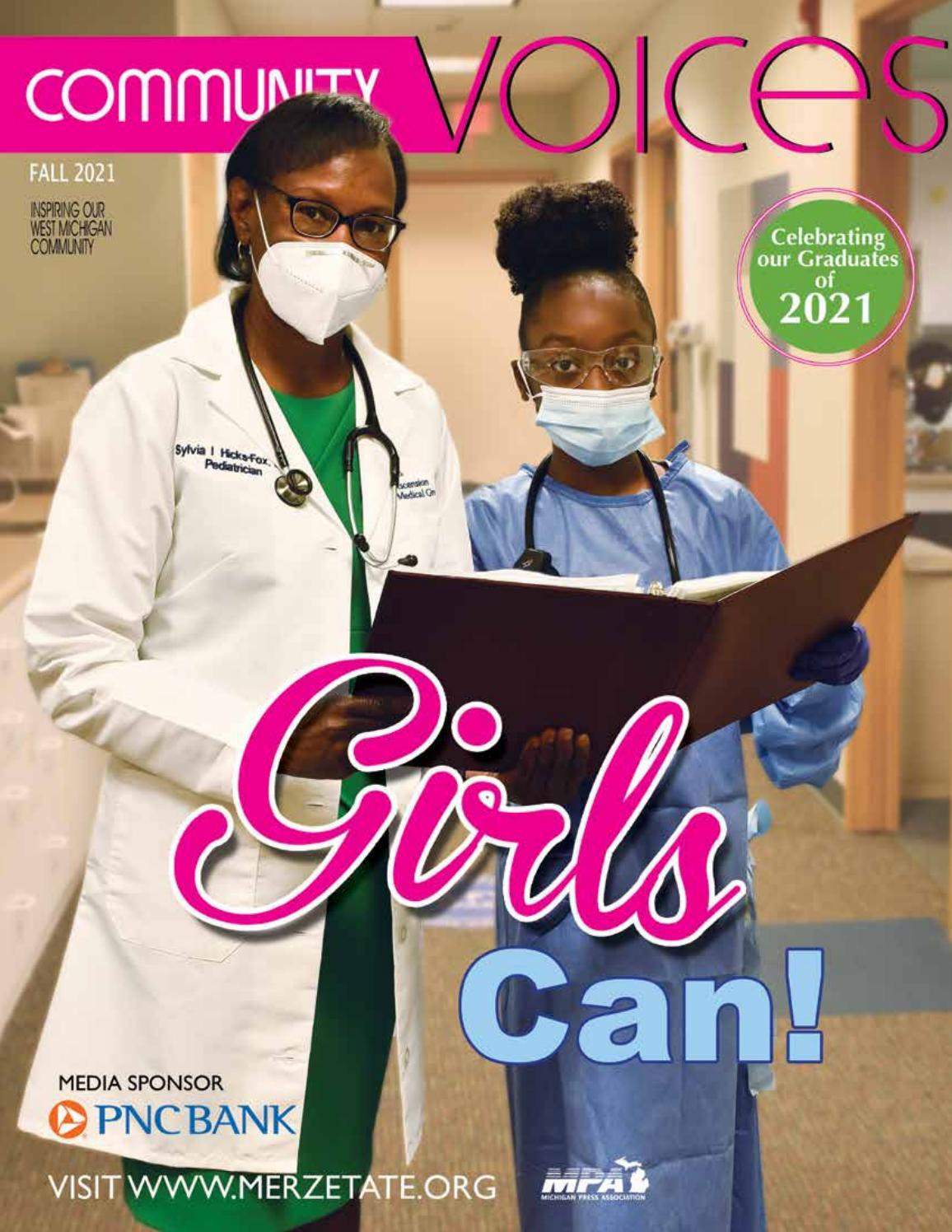 Girls Can! Magazine, from Fall 2021