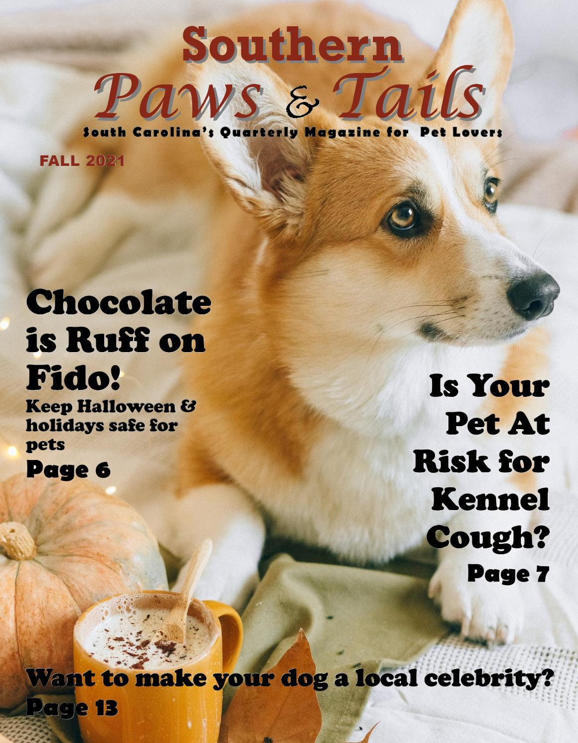 Southern Paws & Tails magazine Fall 2021