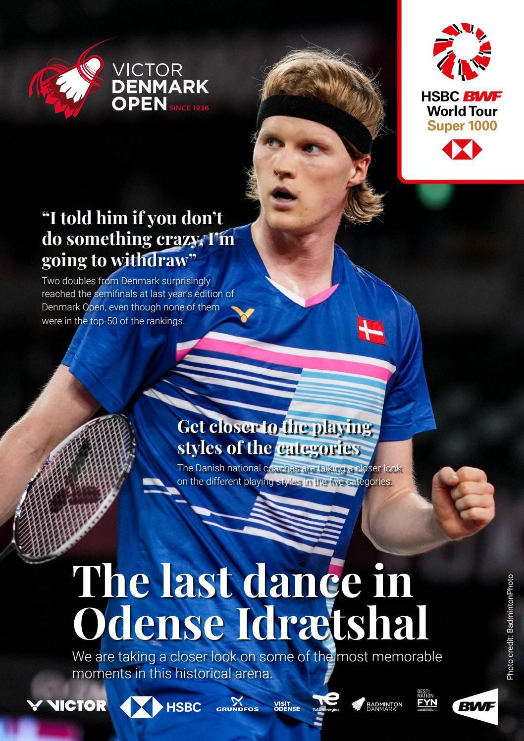 Victor Denmark Open 2021 magazine