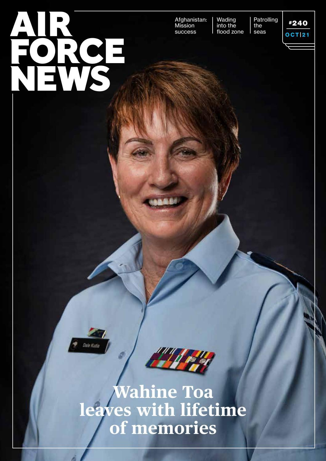 Air Force News magazine Issue 240, October 2021