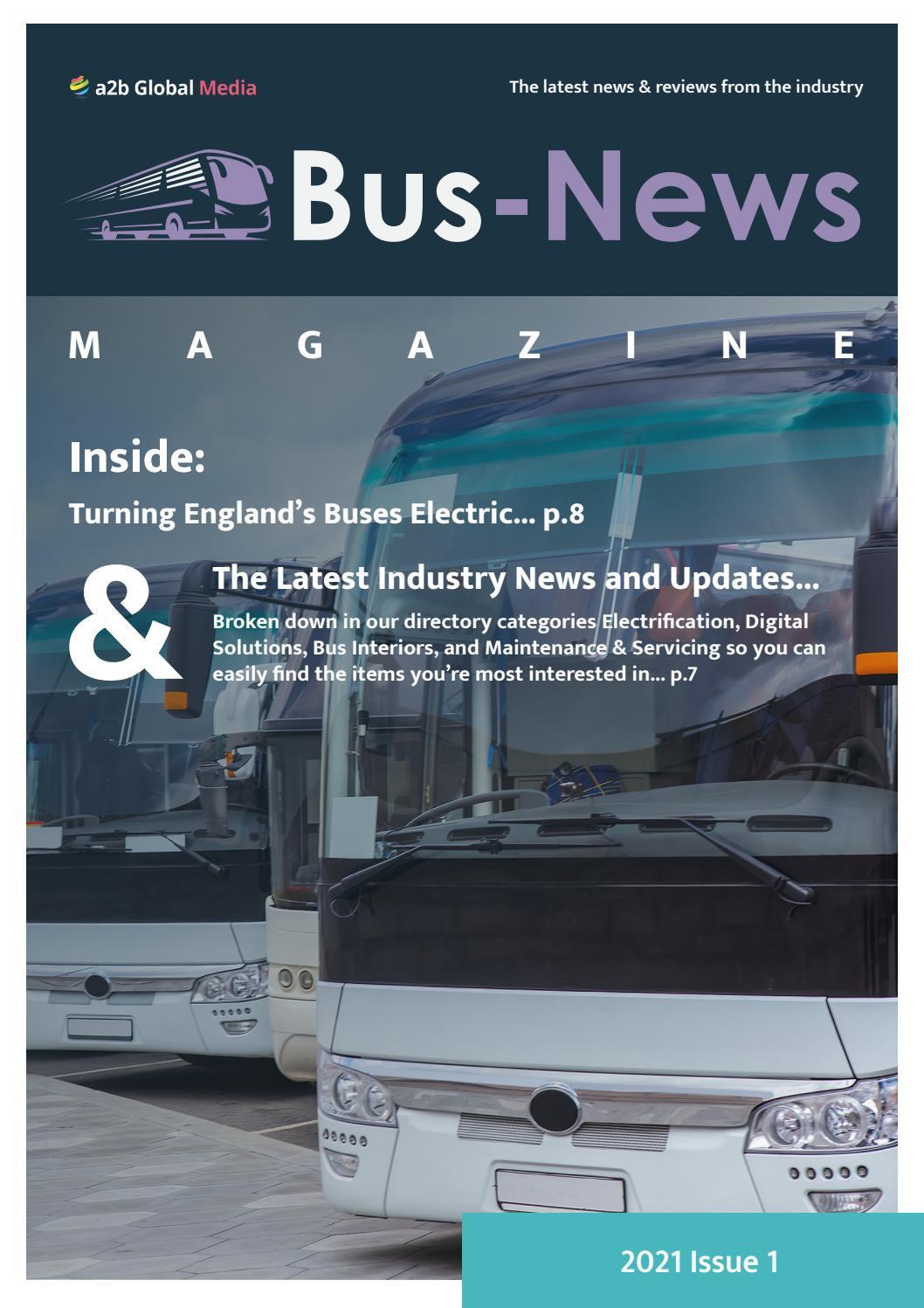 Bus-News Magazine Issue 1 / 2021