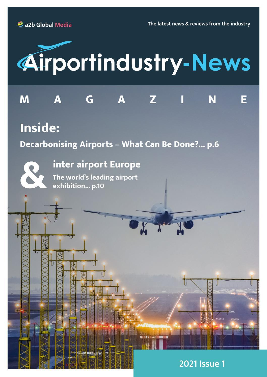 Airport Industry-News Magazine Issue 1 / 2021