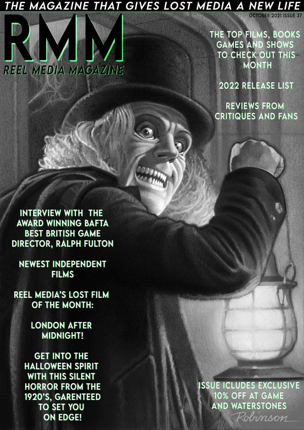 Reel Media Magazine (RRM) October 2021
