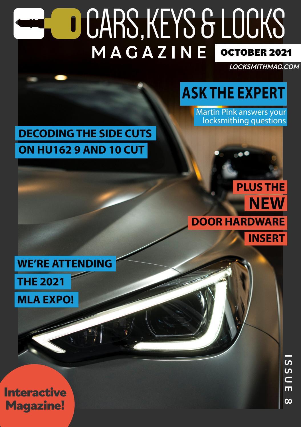 Cars, Keys and Locks Magazine | Issue 8 | October 2021