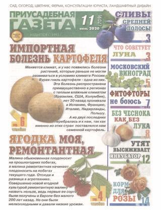 Приусадебная газета №11, июнь 2020