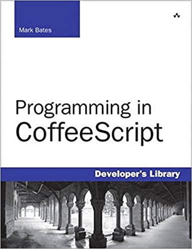 Programming in coffeescript by Mark Bates