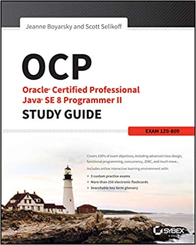 OCP Oracle®  Certified Professional Java®  SE 8 Programmer II - Study Guide