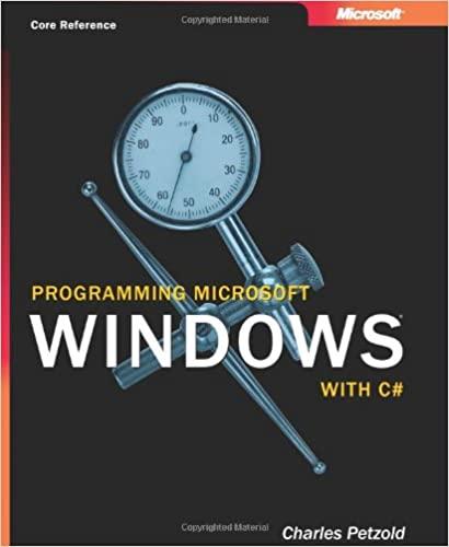 Программирование для Microsoft Windows на С# - Петцольд Ч.