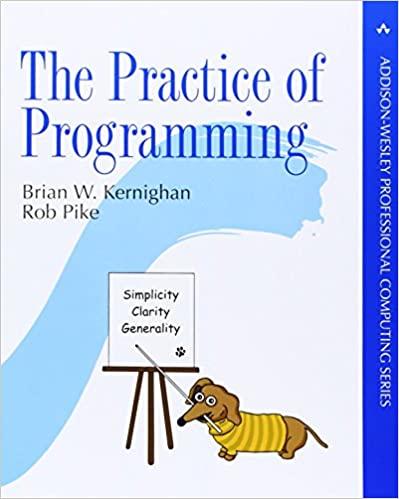 The Practice of Programming - Kernighan, Brian W.