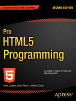 Pro HTML5 Programming - Lubbers, Peter, Salim, Frank, Albers, Brian