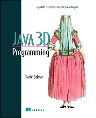 Java 3d Programming - Daniel Selman