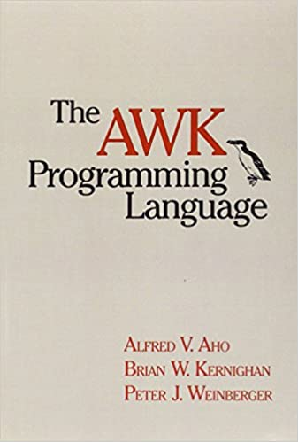 The AWK programming language.
