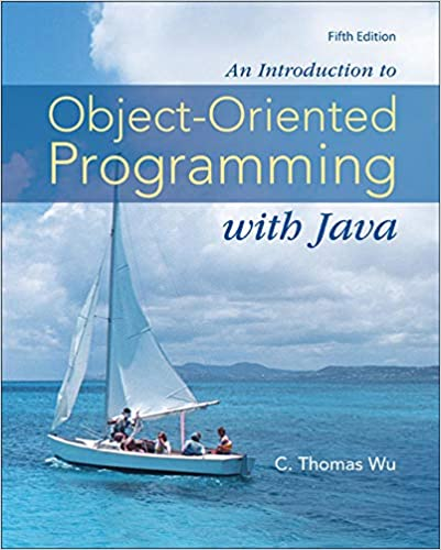 Читать журнал An Introduction to Object-Oriented Programming with Java
