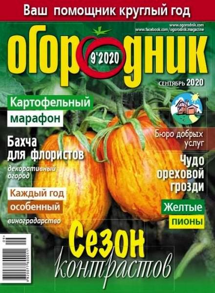 Огородник №9, сентябрь 2020
