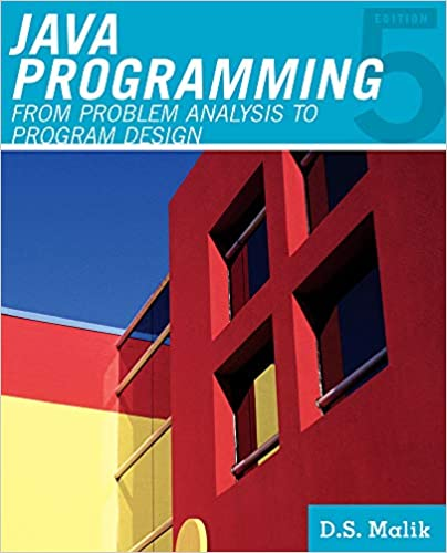 Читать журнал Java™ Programming: From Problem Analysis to Program Design, 5th Edition by D. S. Malik