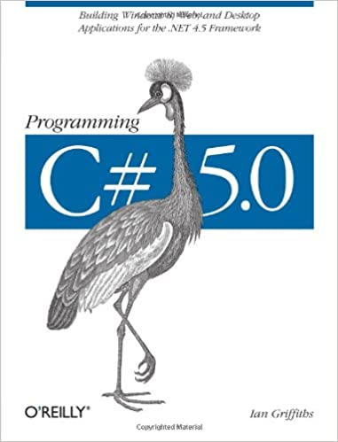 Читать журнал Programming C# 5.0: Building Windows 8, Web, and Desktop Applications for the .NET 4.5 Framework