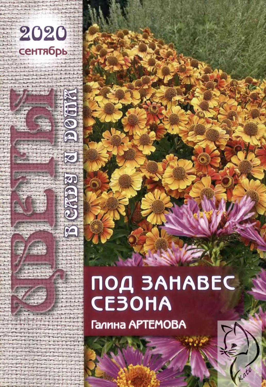 Цветы в саду и дома №9, сентябрь 2020