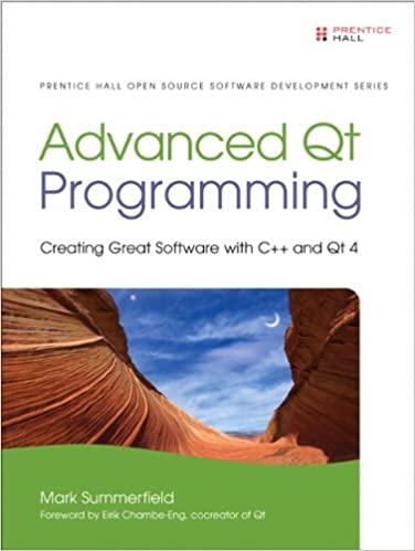 Читать журнал Advanced Qt Programming: Creating Great Software with C++ and Qt 4