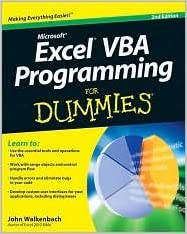 Excel VBA Programming For Dummies 2nd