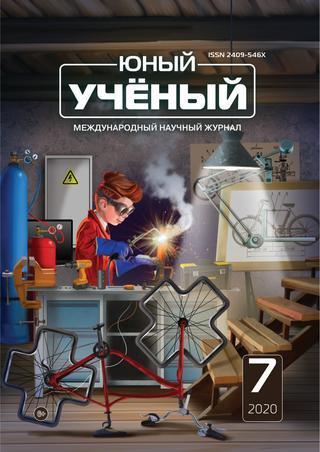 Юный ученый №7, 2020