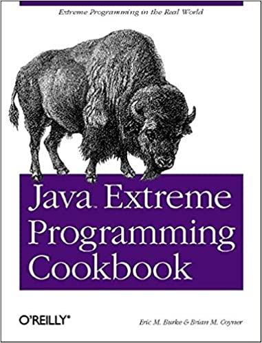 Java Extreme Programming Cookbook
