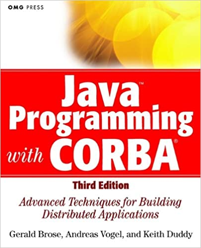 Читать журнал Java Programming with CORBA: Advanced Techniques for Building Distributed Applications