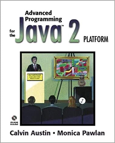 Advanced Programming for the Java 2 Platform