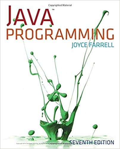 Читать журнал Java Programming 7th Edition