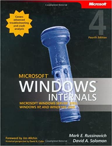 Microsoft Windows Internals (4th Edition): Microsoft Windows Server 2003, Windows XP, and Windows 2000 4th